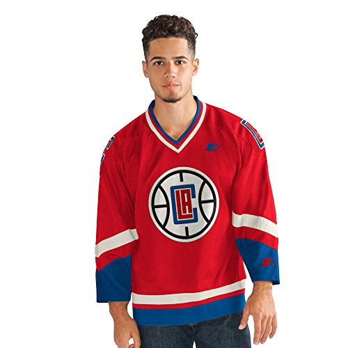 STARTER Adult Men Legend Hockey Jersey, Red, X-Large