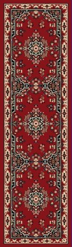 Home Dynamix Premium 7069-202 Polypropylene 1-Feet 9-Inch by 7-Feet 2-Inch Area Rug, Red - Antique Red Rectangle Rug