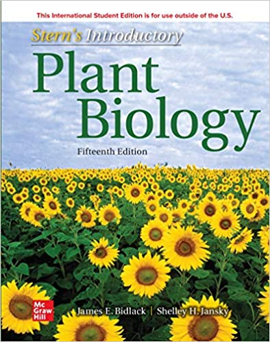 Stern's Introductory Plant Biology, 15th Edition