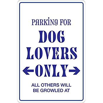 StickerPirate Parking dog Lovers Only 8