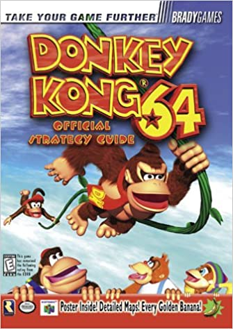 Donkey kong 64 official strategy guide brady games bradygames donkey kong 64 official strategy guide brady games bradygames 9781566869096 amazon books fandeluxe Gallery