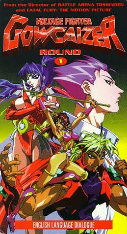 Amazon Com Voltage Fighter Gowcaizer Round 1 Vhs Masami