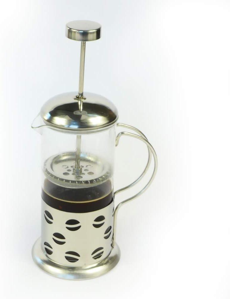 Rotix – Cafetera de émbolo para 2 – 3 tazas | Francés Café Prensa | Acero Inoxidable | Jarra de cristal 350 ml: Amazon.es: Hogar