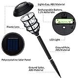 Solpex 8 Pack Solar Pathway Lights Outdoor, Solar