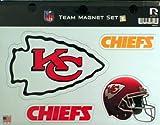 NFL Kansas CITY Chiefs NFL Team Magnet Sheet, Red, 11″ x 8.5″ x 25″