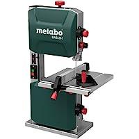 Metabo bandsåg BAS 261 (400 watt, max. skärhöjd 103 mm, genomströmsbredd 245 millimeter, LED-ljus, upp till 45° svängbar…