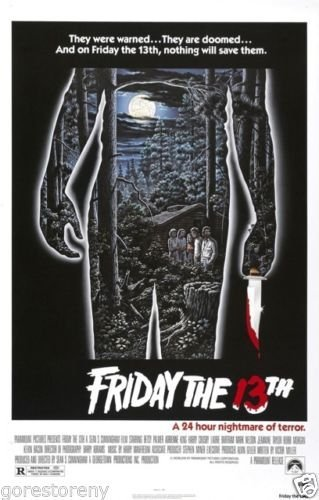 Buyartforless Friday The 13th Movie Poster (1980) 24x36 -