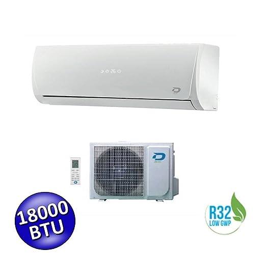 DILOC Aire Acondicionado 18000 BTU - Climatizador Inverter de pared - D. Frozen.18 + D. frozen118 Compresor Sharp: Amazon.es: Bricolaje y herramientas