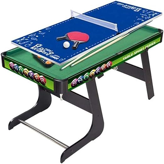 LCRACK Mesa De Billar, Set De Billar Multifunción Ping Pong Mesa ...