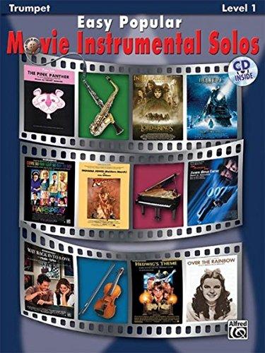 Easy Popular Movie Instrumental Solos: Trumpet, Book & CD (Easy Instrumental Solos Series)