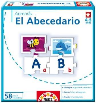 Educa Borrás - Aprendo...El Abecedario (14234): Amazon.es: Juguetes y juegos