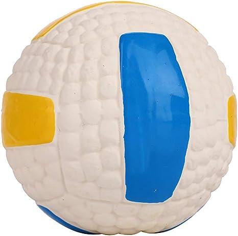 Cupcinu Juguete de Pelota para Mascotas Juguete de Voleibol Molar ...