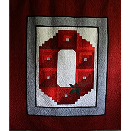 NCAA Ohio State Buckeyes Custom Bedding Queen