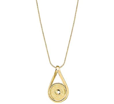 Amazoncom Ginger Snaps Gold Infinity Necklace SN9571 Standard