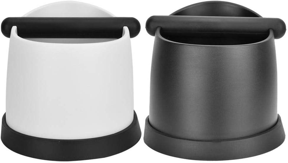 Coffee Knock Out Bo/îte /à expresso en plastique grande capacit/é absorbant les chocs blanc