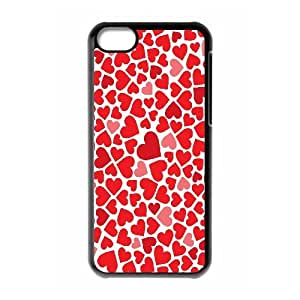 VNCASE Love Pink Phone Case For Iphone 5C [Pattern-1]