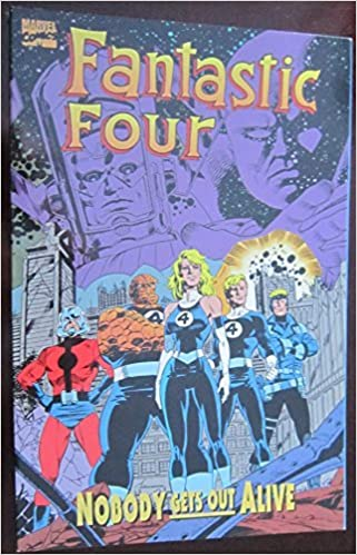 Fantastic four nobody gets out alive by tom defalco (1995 02 01)