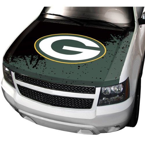 (Team ProMark NFL Green Bay Packers Hood Cover, Yellow, Standard Size)