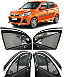 Autofact Magnetic Window Sun Shades For Maruti Alto K10 new model(2015 to 2019) -Set Of 4 - With Zipper