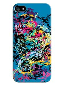 Case Cover Professional Colorful Blue Hard Skin Protective Case Cover For Iphone 5/5s