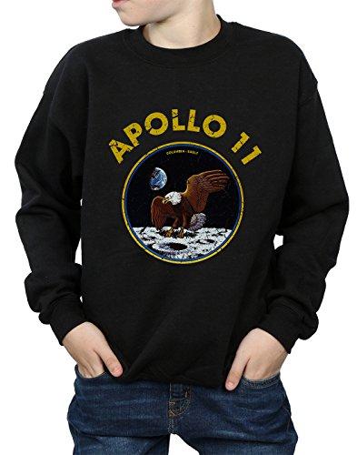 Classic Cult Nera Boy Absolute Nasa 11 Apollo Felpa AwOqvx76