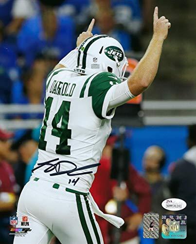 - Sam Darnold New York Jets Quarterback Autographed