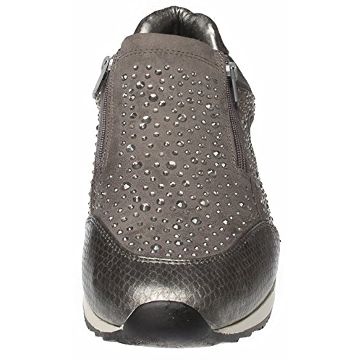 Sneaker Donna Grau Fitters Grigio Footwear