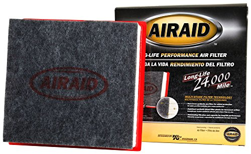 AIRAID 830-385: The Extended Life, Disposable Engine Air Filter for Your 2007-2016 Ford F150; Lincoln Navigator - Lasts Longer Than Your Paper Filter!