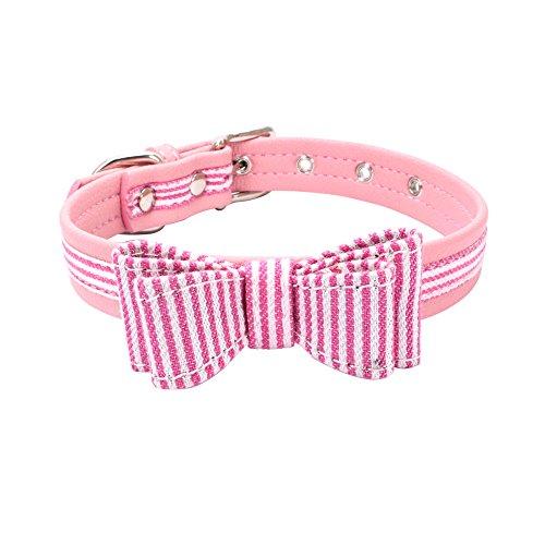 Dog Collars, Pet Collars, Pet Supplies Adjustable Stripe Pla