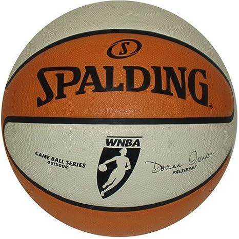 add020f1ca5 Amazon.com: Spalding WNBA Game Ball Series Full Size Replica Basketball  71-000 - New in Box: Sports Collectibles