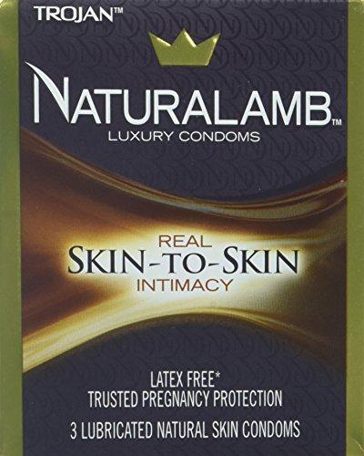 Trojan Natlmb Size 3s Trojan Naturalamb Lubricated Natural Skin (Trojan Naturalamb Lubricated Condoms)