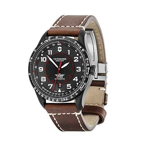 Victorinox Airboss Automatic Black Dial Men's Watch 241886