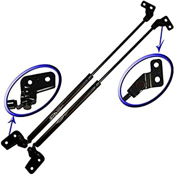 Left and Right Side Two Rear Hatch Liftgate Gas Charged Lift Supports For 2001-2006 Acura MDX WGS-334-2 Wisconsin Auto Supply