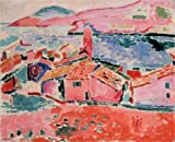 The Perfect Effect Canvas Of Oil Painting 'View Of Collioure 1905 By Henri Matisse' ,size: 30x37 Inch / 76x94 Cm ,this High Quality Art Decorative Canvas Prints Is Fit For Home Theater Decor And Home Decoration And Gifts