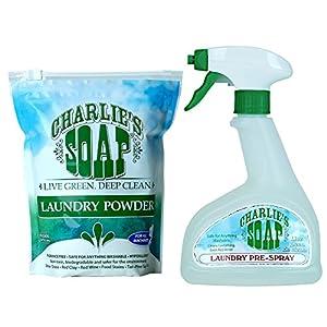 Charlie's Soap - Laundry Powder & Laundry Pre-Spray, 16.9 Ounce