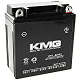KMG 12 Volts 5Ah Replacement Battery for Honda C70 Passport 1982-1983