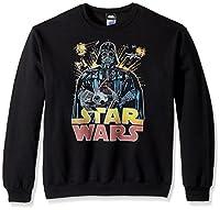 Star Wars Unisex-Adults Men's Ancient Threat T-Shirt, Black Crew Fleece, X-Large