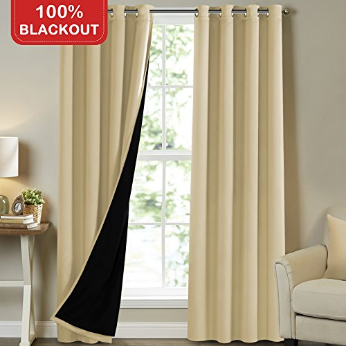 Turquoize 100% Blackout Curtains 96