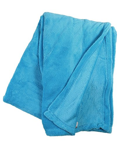 Simplicity Soft Plush Fuzzy Solid Colored Throw Blanket 42