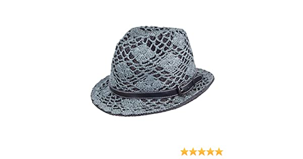 861c3626dc7aeb Peter Grimm Hurlee Fedora Hat Black at Amazon Men's Clothing store: