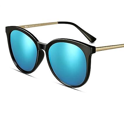 Gafas de sol MinegRong Mujer 2018 Nueva cara redonda Gafas de sol polarizadas Gafas de sol