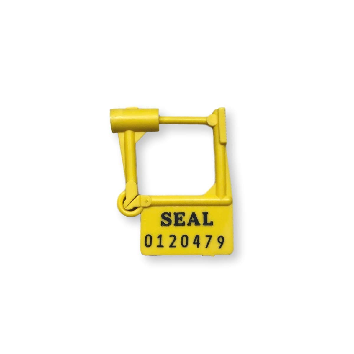 TydenBrooks Security Products, Spring-Lok Padlock Security Seal, Yellow, 1000 Count by TydenBrooks Security Products Group