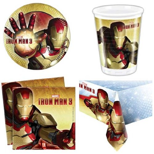 Iron Man 3 8 Person Party Pack