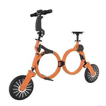 Nueva plegable bicicleta eléctrica de 48V Bluetooth Smart Mini plegable bicicleta eléctrica con batería de litio