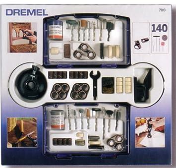 Dremel 26150700JA - Accesorio de Herramienta eléctrica (Pack de 140): Amazon.es: Bricolaje y herramientas