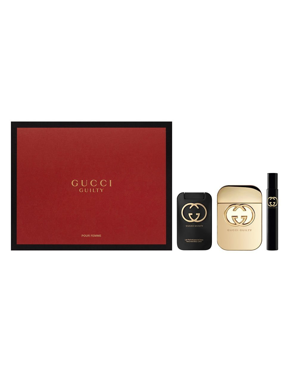 6b7164a2e Gucci Guilty Pour Femme Gift Set, 3-Piece: Amazon.co.uk: Beauty