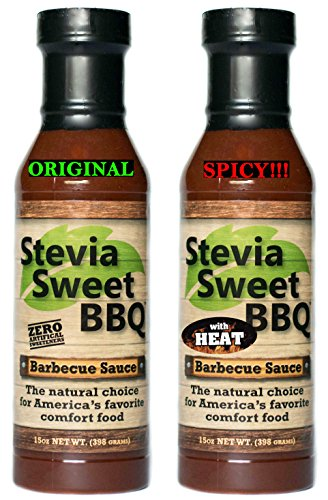 Stevia Sweet BBQ Sauce | Low Sugar , Low Carb, Low Sodium, G