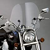 Slipstreamer SS-10-C Motorcycle Windshield, Clear