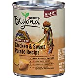 Purina Beyond Grain Free Natural, Chicken & Sweet Potato Recipe in Gravy Canned Dog Food, 12.5 oz, case of 12
