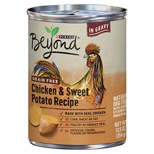 Purina Beyond Grain Free Chicken & Sweet Potato Recipe in Gravy Adult Wet Dog Food – Twelve (12) 12.5 oz. Cans Review